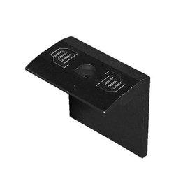 Flatfix eindklem zwart ( 31-50mm )