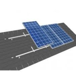 Van der Valk solar systems Set 1 rij van 2 zonnepanelen portrait