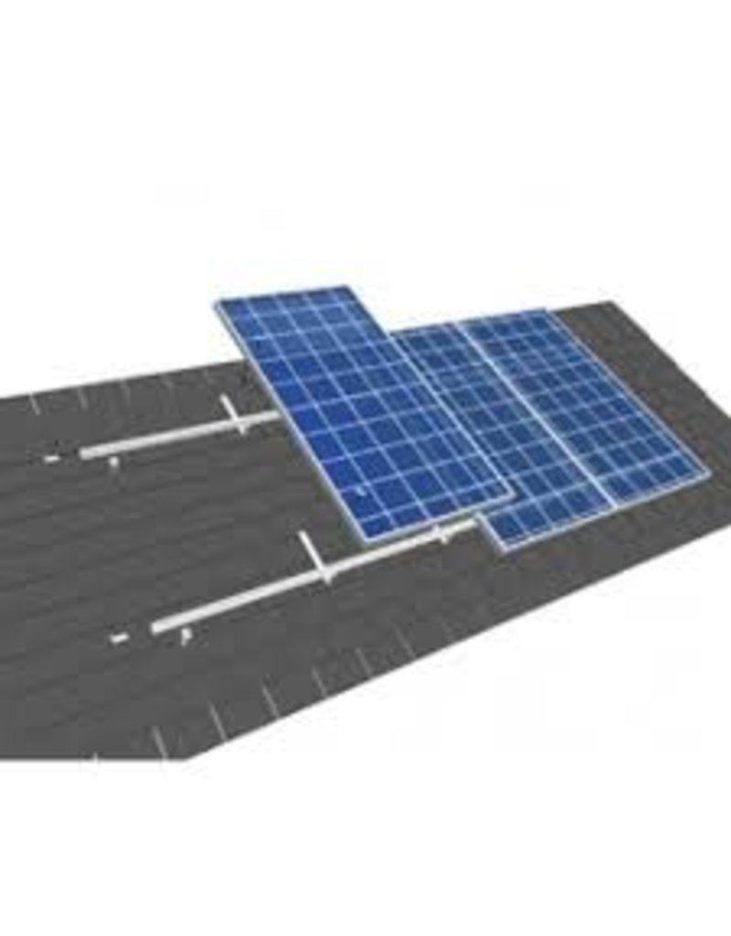 Van der Valk solar systems Van der Valk set 1 rij van 2 zonnepanelen portrait