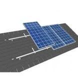 Van der Valk solar systems Van der Valk set 1 rij van 22 zonnepanelen portrait