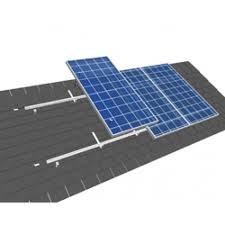 Van der Valk solar systems Set 1 kolom van 1 zonnepaneel Landscape