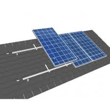 Van der Valk solar systems Set 1 kolom van 6 zonnepanelen Landscape