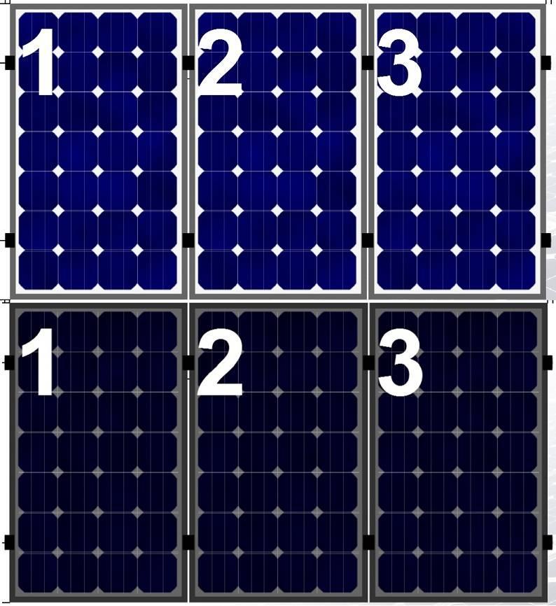 Clickfit Evo Clickfit Evo set 1 rij van 3 zonnepanelen portrait