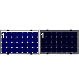 Clickfit EVO Set 1 kolom van 1 zonnepaneel landscape