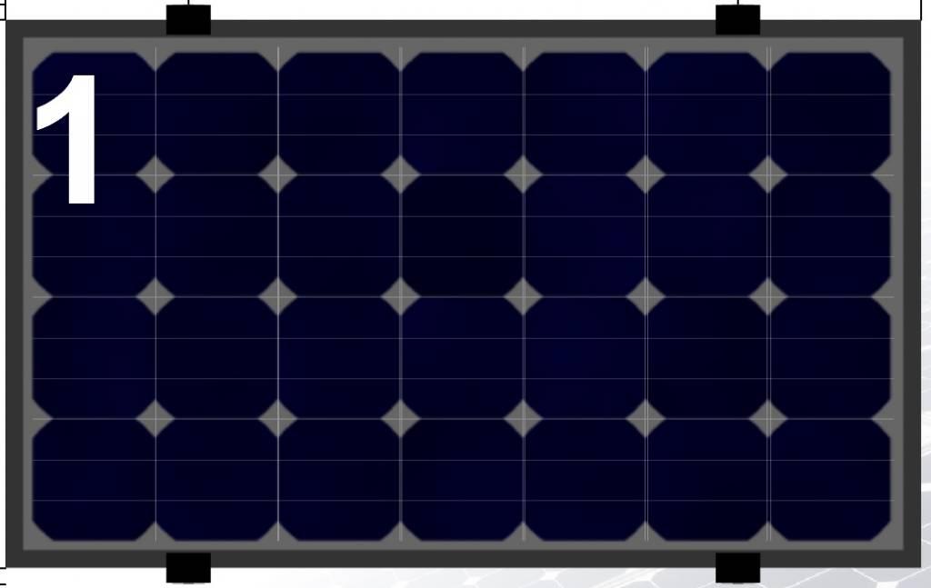 Clickfit Evo Clickfit Evo set 1 kolom van 1 zonnepaneel landscape