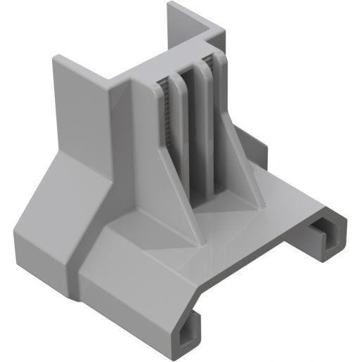 Clickfit Evo ClickFit Evo - Eindklemsteun staaldak grijs
