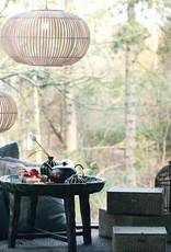 Broste Copenhagen bamboo hanglamp Zep naturel XL ø68cm