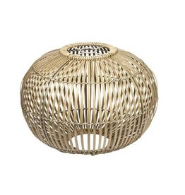 Broste Copenhagen bamboo hanglamp Zep naturel L