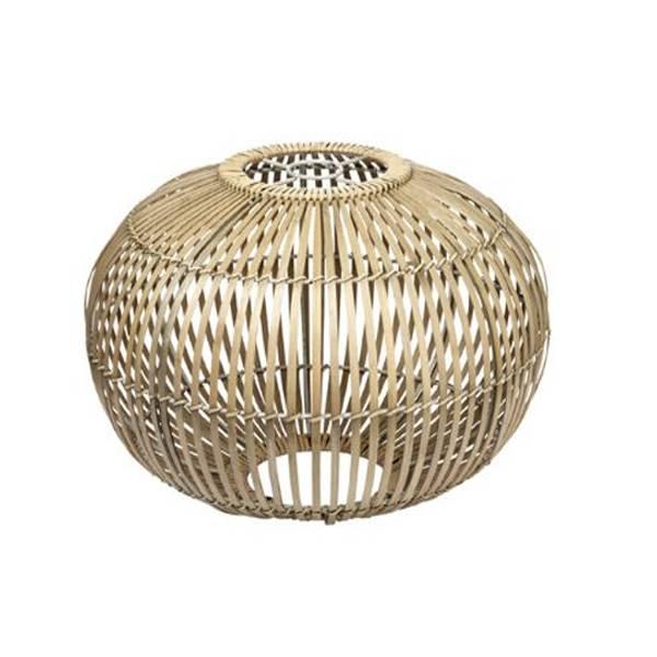 copenhagen bamboo hanglamp zep naturel l ø48cm bamboo hanglamp voor ...