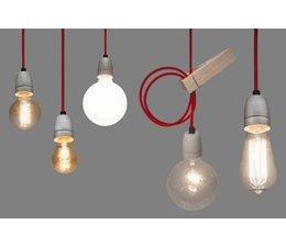 Het Lichtlab Hanginglamp white cord 2mtr