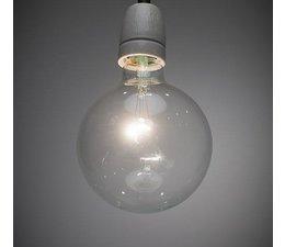 Het Lichtlab Hanglamp zwart Strijkijzersnoer 2mtr