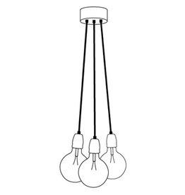 Het Lichtlab Hanglamp bundel 3 lichts 150cm