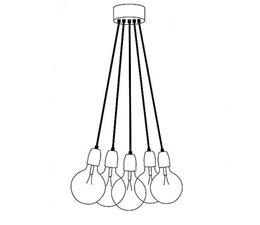 Het Lichtlab Bügeleisenkabeln set von 5 150cm