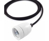 Het Lichtlab Hanginglamp black cord 2mtr