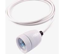 """Het Lichtlab Fetzige """"Kabel""""-Lampe weiss 2mtr"""
