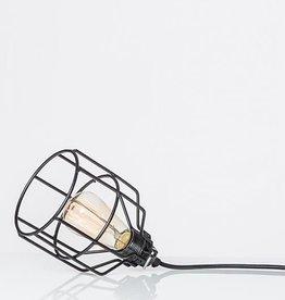 Het Lichtlab No. 15 Kooilamp Zwart