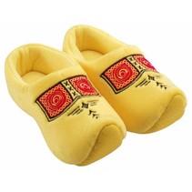 Klomp pantoffel geel