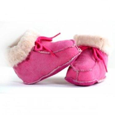 Bernardino baby slof roze