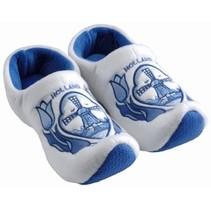 Klomp pantoffel Delfsblauw