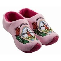 Klomp pantoffel molen roze