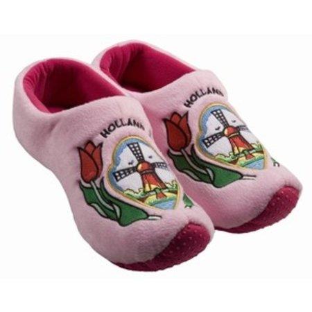 Nijhuis Klomp pantoffel molen roze