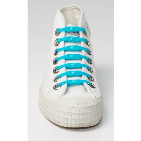 Shoeps Elastische veter Aqua blue