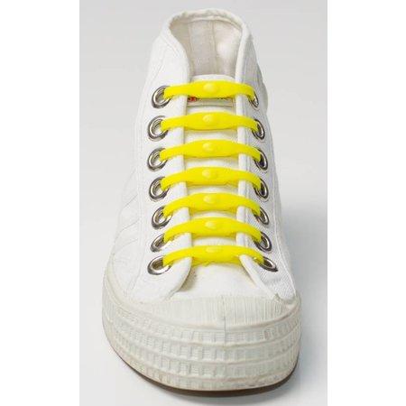 Shoeps Elastische veter geel