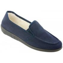 pantoffel blauw 2224