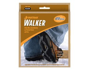 Yaktrax walker 'sneeuwketting voor de schoen'