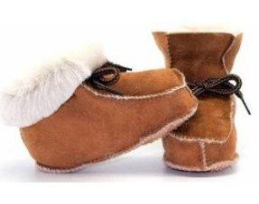 Baby sloffen wol gevoerd