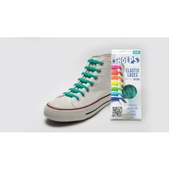 Shoeps Elastische veter Sea Green