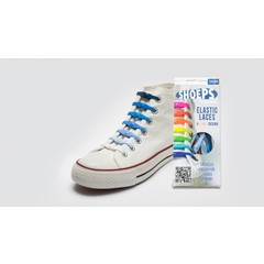 Shoeps Elastische veter Blue mix