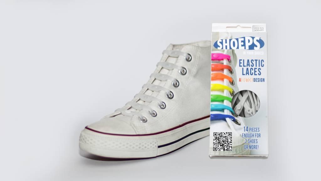 Shoeps Elastische Veters Jaune Soleil b3poOGUx
