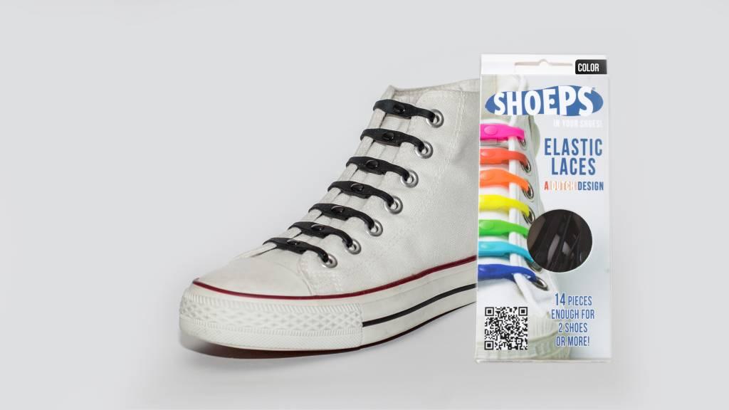 Shoeps Lacets Élastiques Noir fScO8xsQCS