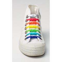 Shoeps Elastische veter mix van 7 kleuren