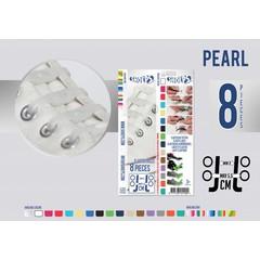 Shoeps Elastische veter pearl 8 stuks
