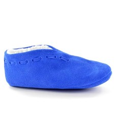kinder Spaanse slof royal blue