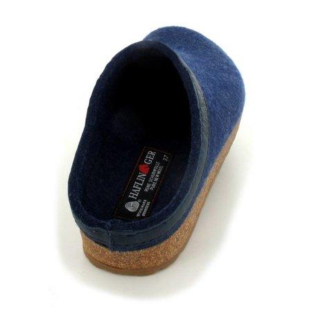 Haflinger Pantoffel Grizzly torben jeans
