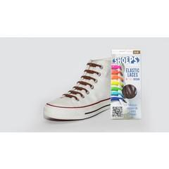 Shoeps Elastische veter bruin