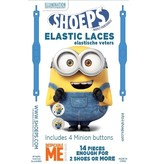 Shoeps Elastische veter MINION BANANA BLUE 14 STUKS