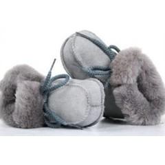 Bernardino baby slof grijs