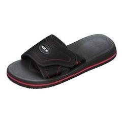 Beco slipper rood/zwart