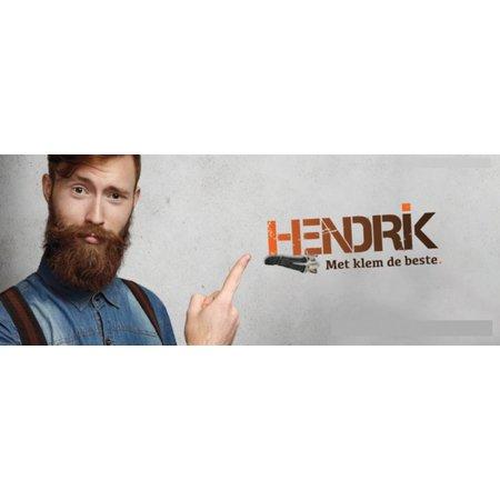 Hendrik Bretels Bordeaux Rood
