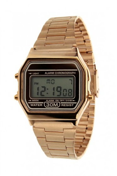 OLD SKOOL ROSE WATCH