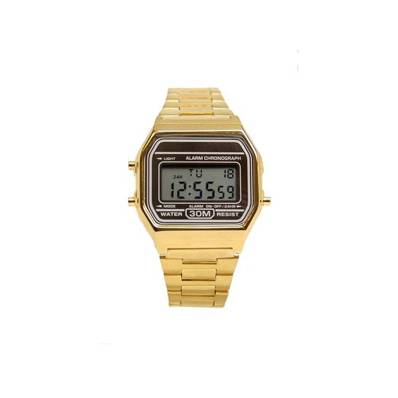 OLD SKOOL GOLD WATCH