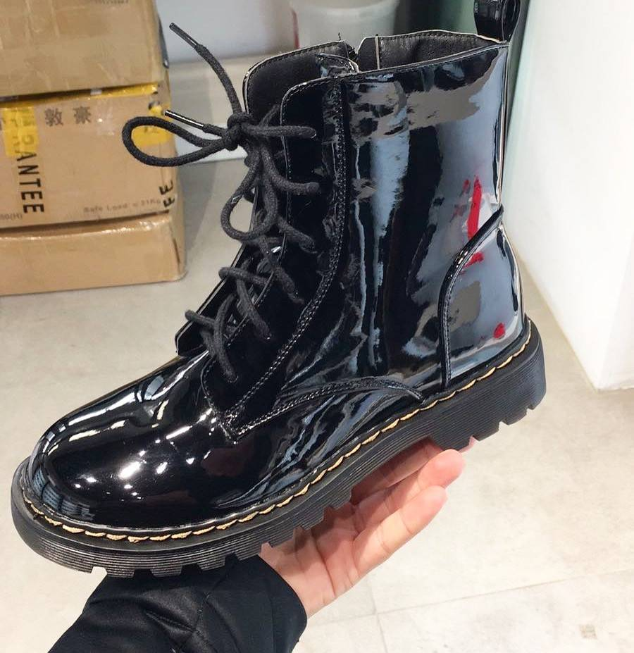 LACQUER BOOTS