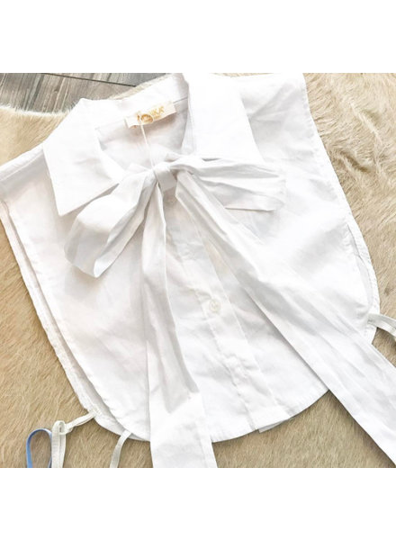COMPLETE YOUR LOOK BOW WHITE