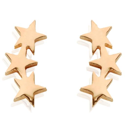 STARLINE GOLD EARRINGS