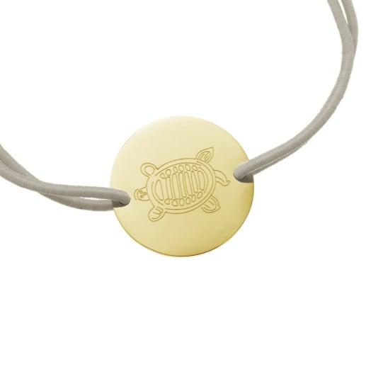 SEA TURTLE Armband Gold