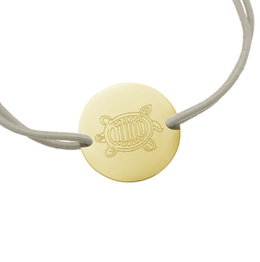 SEA TURTLE BRACELET GOLD
